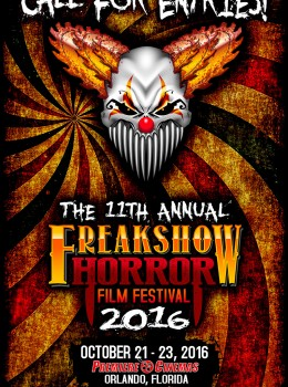 Freakshow - Call for Entries - Press Release