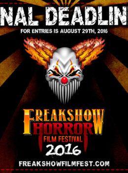 Freako - Final Deadline Entries - August 29 Square