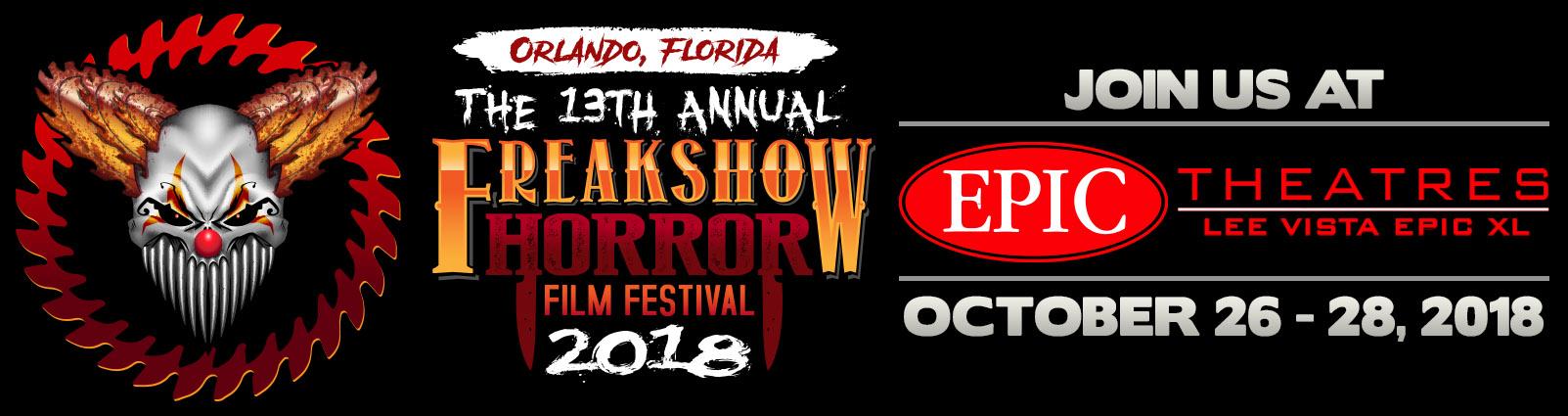 FREAK SHOW Horror Film Festival